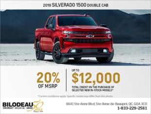 Get the 2019 Chevrolet Silverado