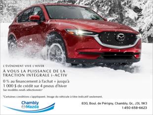 L'événement vive l'hiver Mazda!