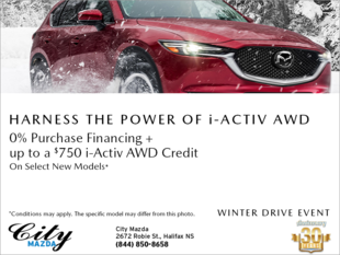 Mazda Winter Drive Event!
