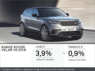 Le Range Rover Velar V6 2018