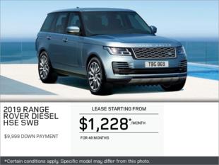 The 2019 Range Rover Diesel