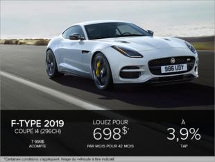 La F-Type Coupé i4T 2019