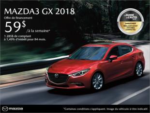 Mazda Joliette - Procurez-vous la Mazda3 2018!
