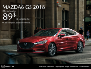 Mazda Joliette - Procurez-vous la Mazda6 2018!