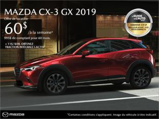 Mazda Repentigny - Procurez-vous le Mazda CX-3 2019!