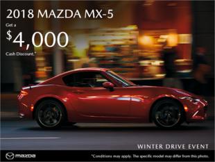 Forman Mazda - Get the 2018 Mazda MX-5 today!