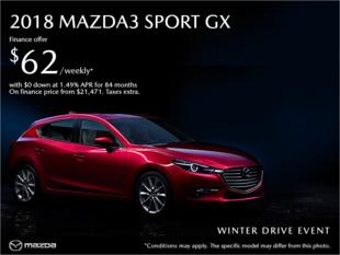 Forman Mazda - Get the 2018 Mazda3 today!