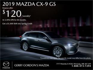 Gerry Gordon's Mazda - Get the 2019 Mazda CX-9 today!