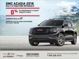 Financez le Acadia 2018!
