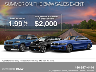 Summer ON. The BMW Sales Event.