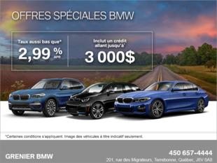 L'événement de vente BMW.