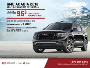 Louez le Acadia 2018!