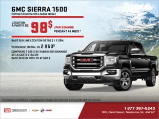 Louez le Sierra 1500 Edition Élévation 2018!