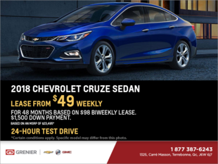 2018 Chevrolet Cruze Berline LT
