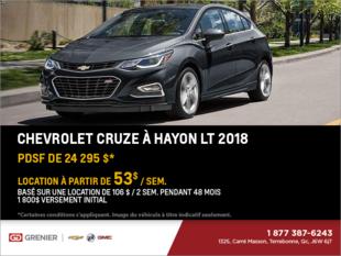 Chevrolet Cruze à hayon 2018