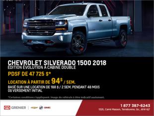Chevrolet Silverado 1500 2018