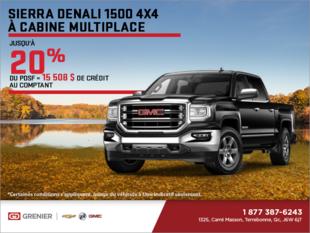 Le GMC Sierra Denali 1500 2018