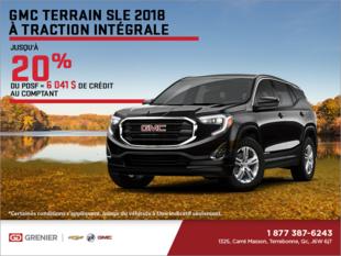 Le GMC Terrain 2018