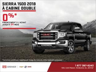Le GMC Sierra1500 2018