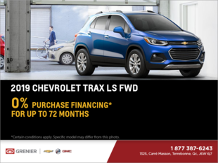 Finance the 2019 Chevrolet Trax