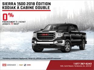 Le GMC Sierra 2018