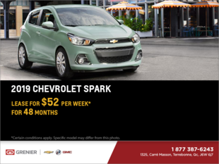 Lease the 2019 Chevrolet Spark