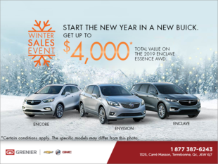 Start the New Year in a New Buick