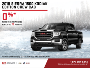 The 2018 GMC Sierra