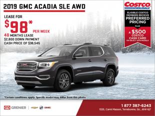 The 2019 GMC Acadia