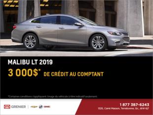 Obtenez le Chevrolet Malibu 2019