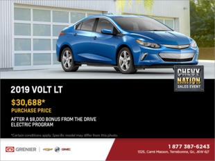 Get the 2019 Chevrolet Volt!