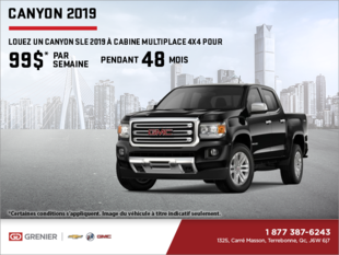 Le GMC Canyon 2019