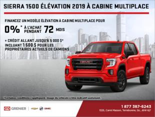 Le GMC Sierra 1500 2019