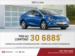 Procurez-vous la Chevrolet Volt 2019!