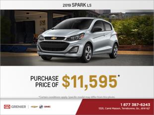 Get the 2019 Chevrolet Spark