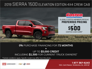 The 2019 GMC Sierra 1500