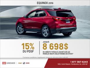 Obtenez le Chevrolet Equinox 2019