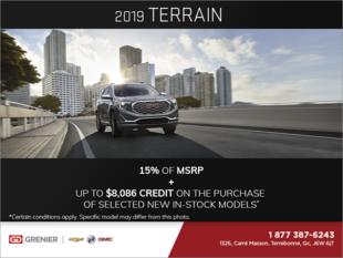 The 2019 GMC Terrain