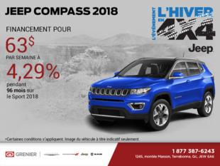 Obtenez le Jeep Compass 2018!
