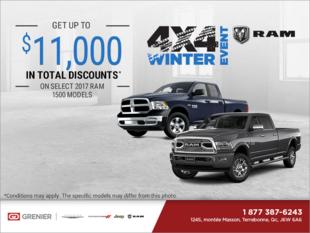 RAM 4x4 Winter Event