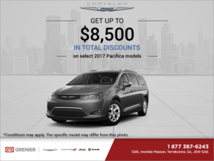 Chrysler's Monthly Sales Event