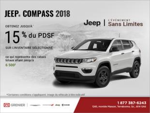 Conduisez un Jeep Compass 2018
