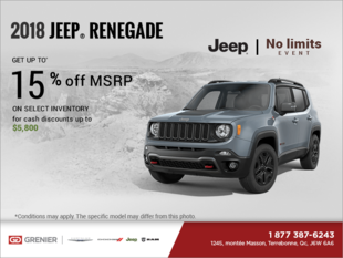 Get the 2018 Jeep Renegade