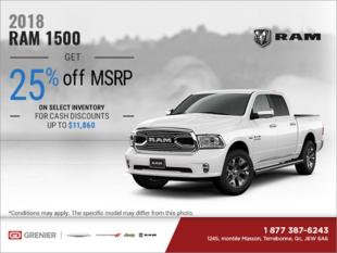Get the 2018 RAM 1500