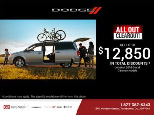 2018 Dodge Caravan just for you!