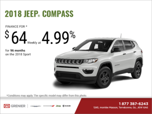Get the 2018 Jeep Compass