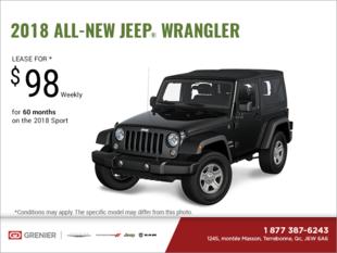 Get the 2018 Jeep Wrangler