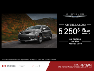 L'événement mensuelle de Chrysler