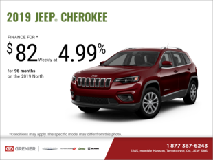 Get the 2019 Jeep Cherokee