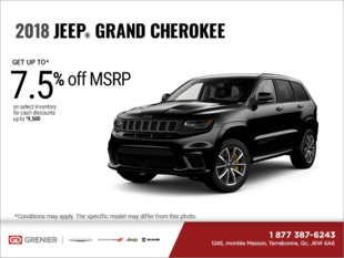 Get the 2018 Jeep Grand Cherokee!